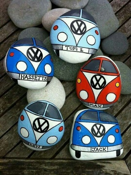 Smart Painted Rock Ideas Home Decoration43