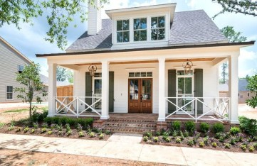 Top Modern Farmhouse Exterior Design19