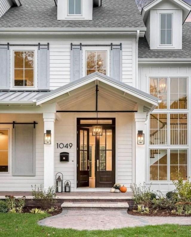 Top Modern Farmhouse Exterior Design33