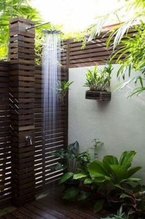Amazing Outdoor Bathroom Design Ideas31