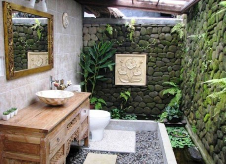Amazing Outdoor Bathroom Design Ideas43