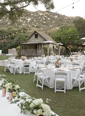 Amazing Wedding Decor Inspiration For Outdoor Party16