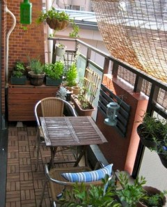 Awesome Small Balcony Ideas For Apartment23