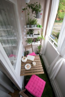 Awesome Small Balcony Ideas For Apartment35