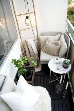 Awesome Small Balcony Ideas For Apartment36