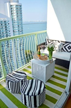 Awesome Small Balcony Ideas For Apartment45