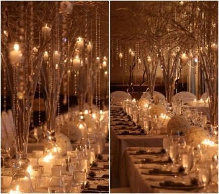 Awesome Winter Wonderland Wedding Decoration21