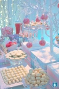 Awesome Winter Wonderland Wedding Decoration23