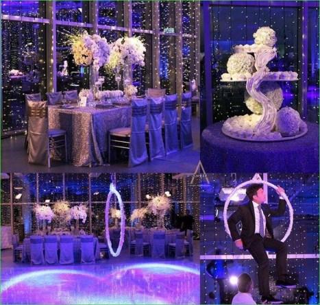Awesome Winter Wonderland Wedding Decoration27