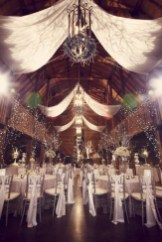 Awesome Winter Wonderland Wedding Decoration32