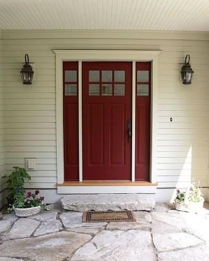 Best Exterior Paint Color Ideas Red Brick16