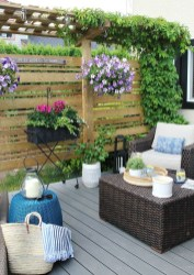 Creative And Simple Balcony Decor Ideas43