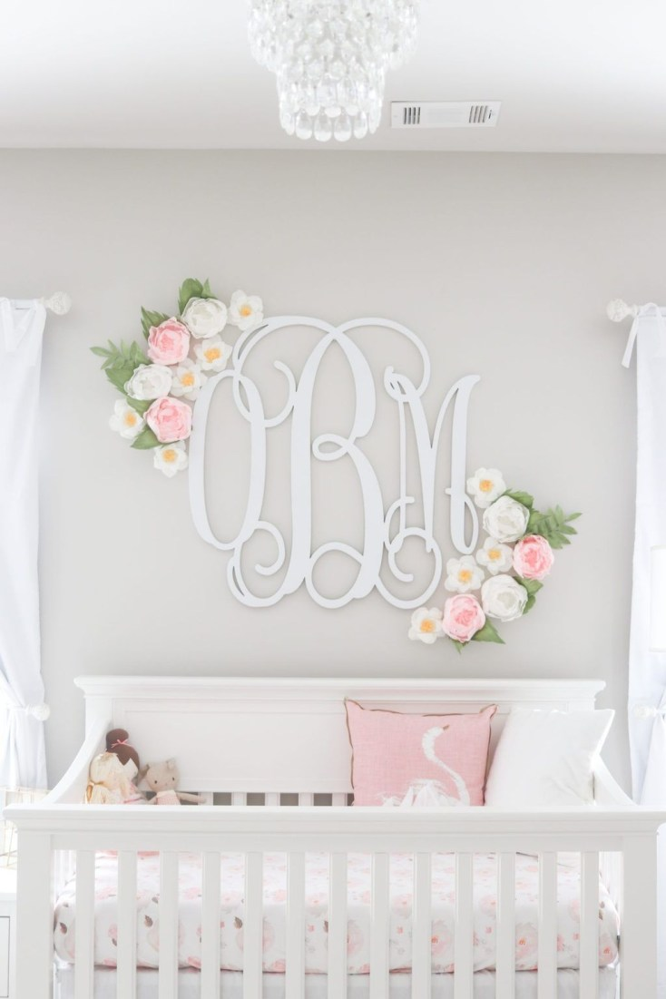 Cute And Cozy Bedroom Decor For Baby Girl10