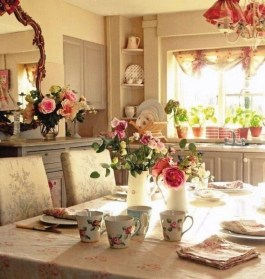 Feminine Dining Room Design Ideas01