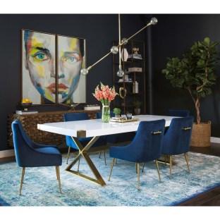 Feminine Dining Room Design Ideas07