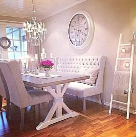 Feminine Dining Room Design Ideas19