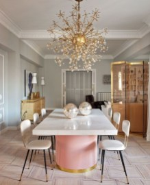 Feminine Dining Room Design Ideas22