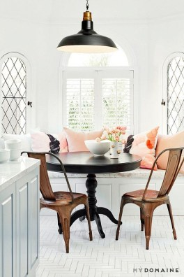 Feminine Dining Room Design Ideas25
