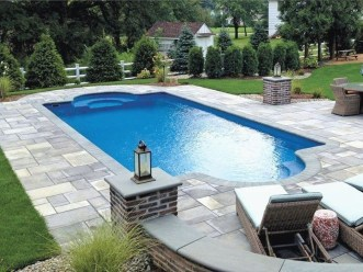 Landscaping Ideas For Backyard Swimming Pools24