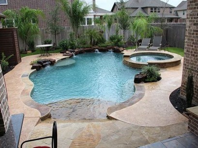 Landscaping Ideas For Backyard Swimming Pools28