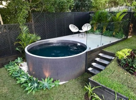 Landscaping Ideas For Backyard Swimming Pools31