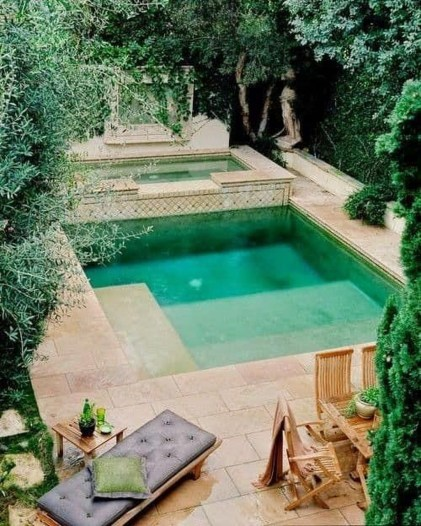 Landscaping Ideas For Backyard Swimming Pools47
