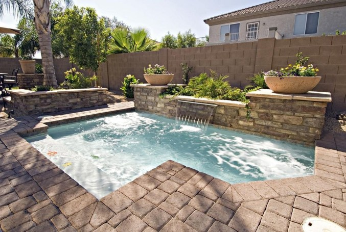 Landscaping Ideas For Backyard Swimming Pools49