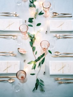 Lovely Dinner Table Design14