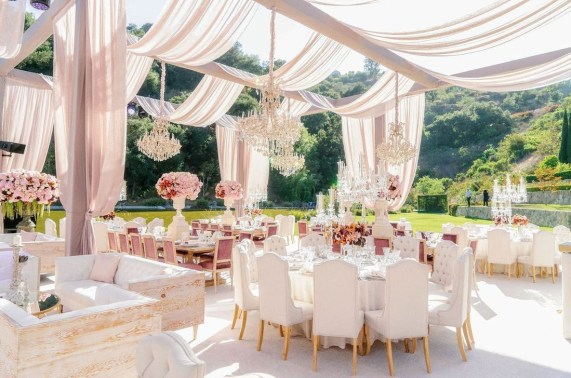 Luxury Wedding Decor Inspiration For Garden Party33