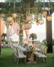 Luxury Wedding Decor Inspiration For Garden Party37