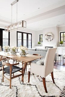 Simple Dining Room Design40