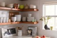 Smart Kitchen Open Shelves Ideas05