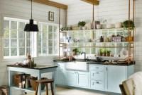 Smart Kitchen Open Shelves Ideas09