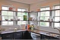 Smart Kitchen Open Shelves Ideas10