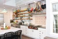 Smart Kitchen Open Shelves Ideas12