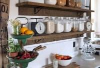 Smart Kitchen Open Shelves Ideas14