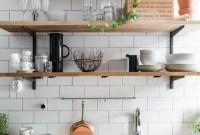 Smart Kitchen Open Shelves Ideas27