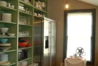 Smart Kitchen Open Shelves Ideas34