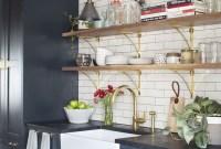 Smart Kitchen Open Shelves Ideas36