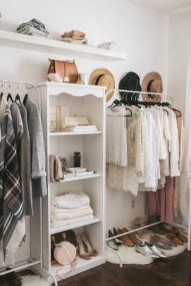 The Best Design An Organised Open Wardrobe06