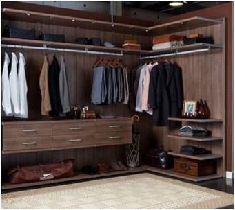 The Best Design An Organised Open Wardrobe20