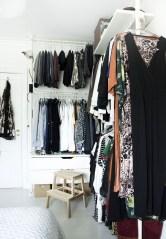 The Best Design An Organised Open Wardrobe26