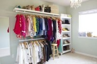 The Best Design An Organised Open Wardrobe30