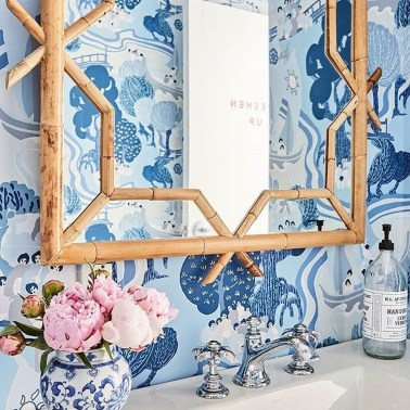 The Best Interior Design Using Wallpaper To Add To The Beauty Of Your Home06