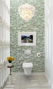 The Best Interior Design Using Wallpaper To Add To The Beauty Of Your Home07