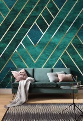 The Best Interior Design Using Wallpaper To Add To The Beauty Of Your Home26