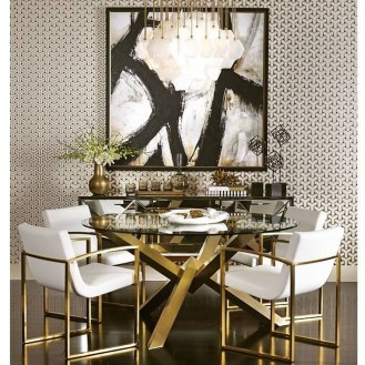 The Best Interior Design Using Wallpaper To Add To The Beauty Of Your Home36