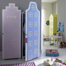 The Best Wardrobe Shutter Designs For Childrens15