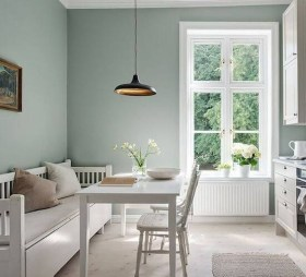 The Ideas Of A Dining Room Design In The Winter14