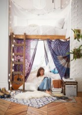 Awesome Bohemian Bedroom Tapestry Decorating Ideas38
